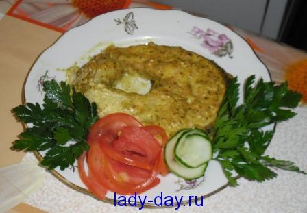 lady-day.ru-Щука запеченная в духовке