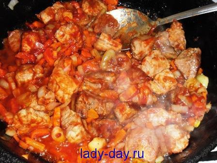 рецепты с картошкой в духовке со свининой