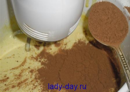 сода и какао