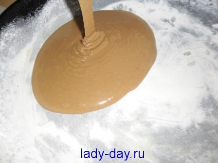 Шоколадный торт тесто на коржи