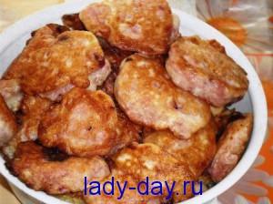 lady-day.ru-Оладьи с вишней