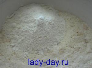 lady-day.ru-Пирог с творожной начинкой