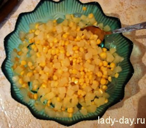 lady-day-Салат с ананасами