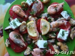 lady-day-Салат из морепродуктов