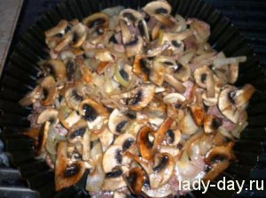 lady-day-Свинина с грибами в духовке