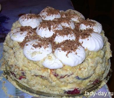 Зефирный торт