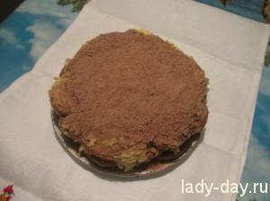 lady-day-Быстрый торт из печенья