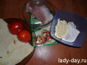 lady-day-Лаваш с мясом и овощами