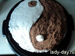 lady-day-Торт Инь-Янь