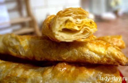lady-day-Слоеные косички с курицей и сыром