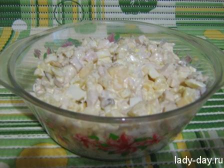 Салат в миске