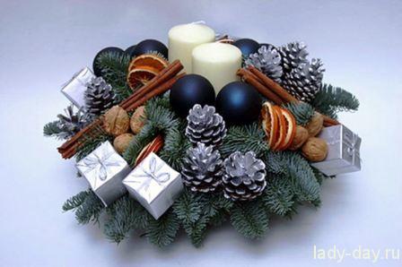 Новогодние рецепты и новогоднее оформление стола в год Змеи