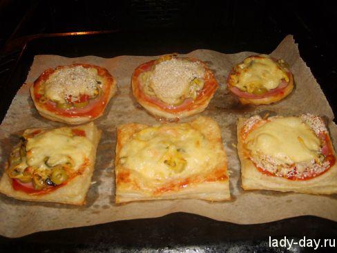 Мини-пицца на скорую руку