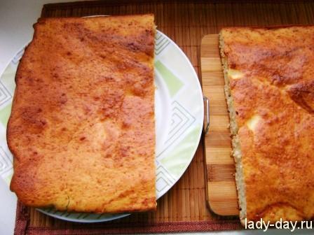 Торт на кефире