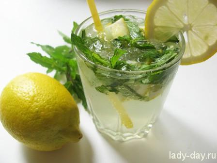 Рецепт безалкогольного мохито со «Спрайтом» и лимоном