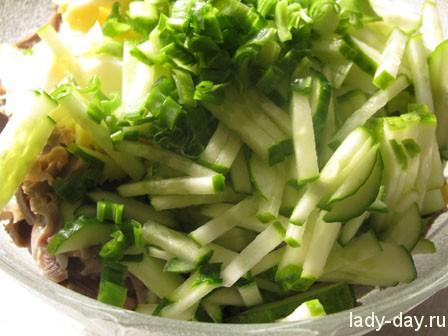 салат из куриных желудков рецепт с фото очень