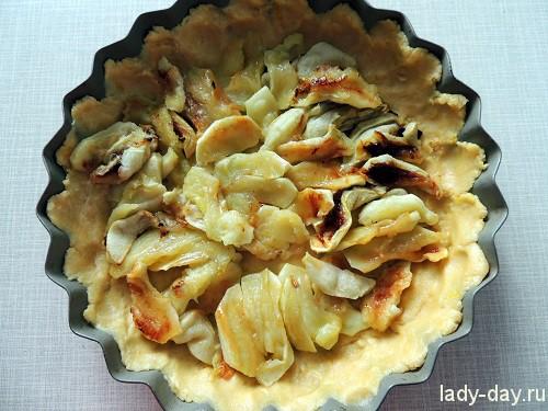 яблочный пирог с безе рецепт с фото в духовке