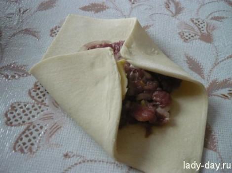 Рецепт самсы с мясом