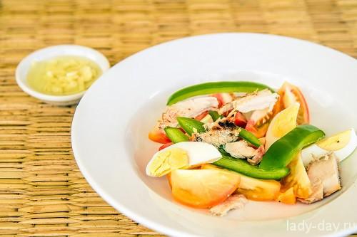 Салат из шашлыка