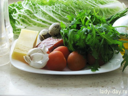 салат с пекинской капустой рецепт с фото очень