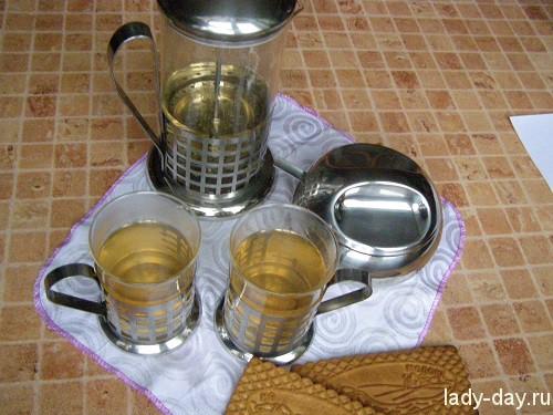 Чай из малиновых веток