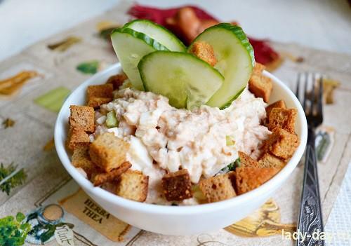 Теплый салат с куриной рецепты
