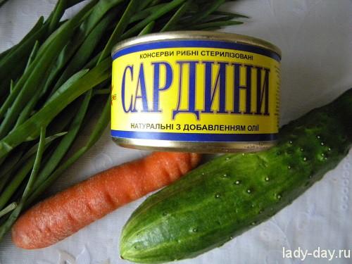 """Салат """"Солнечный"""""""