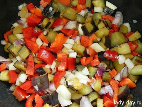 Рис с овощами в мультиварке