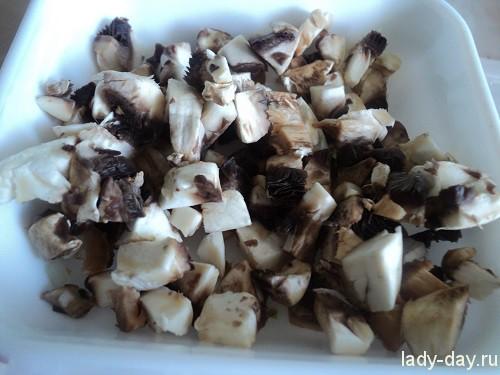 Мешочки с грибами