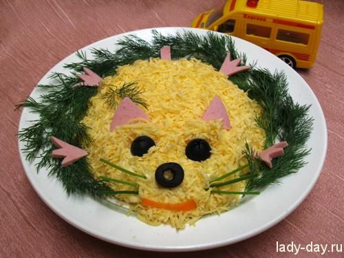 Салат мышка