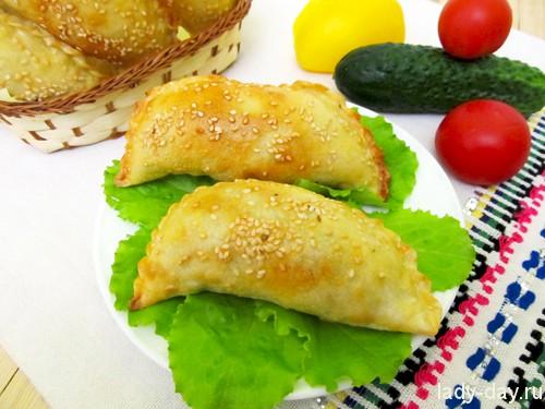 Чебуреки с картошкой