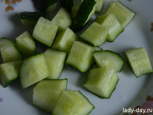 салат с фетой рецепт с фото пошагово