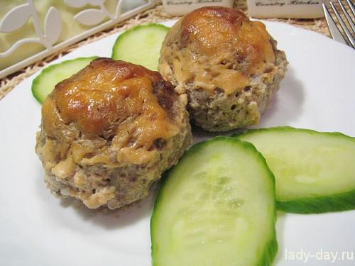 рецепт вторых блюд с мясом в духовке с фото