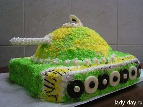 23-февраля-торт