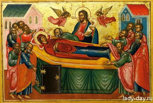 Успение Пресвятой Богородицы в 2015 году
