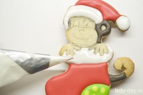 печенье обезьянка