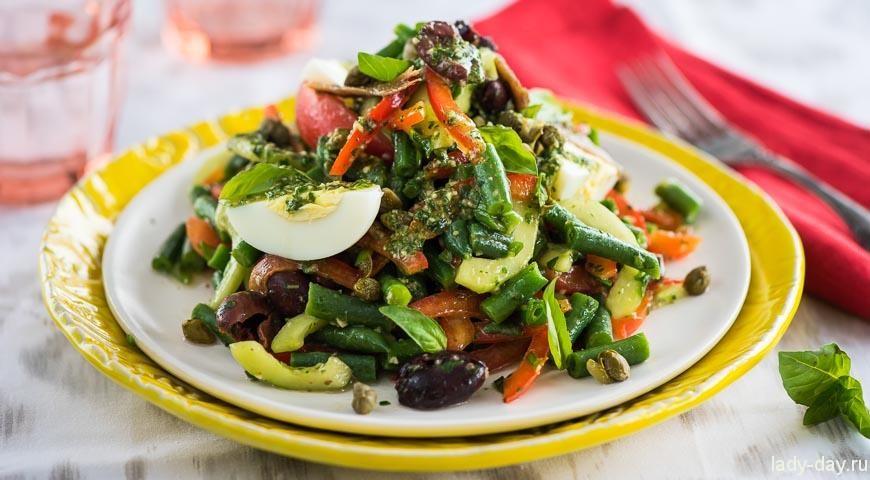 Кабардинские рецепты салаты