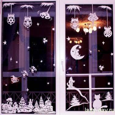 окно украшение