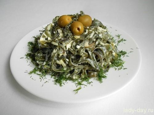 вкусный салат из морской капусты рецепт лучшее