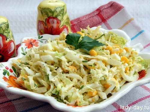 салат с пекин капусты
