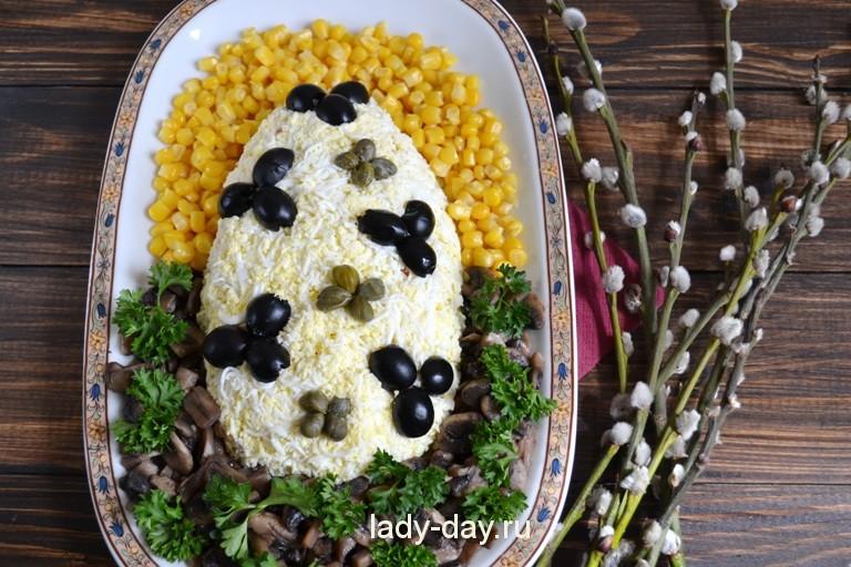 Простые и вкусные салаты к празднику