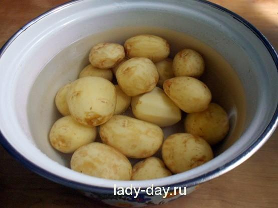 Как вкусно сварить молодую картошку рецепт с