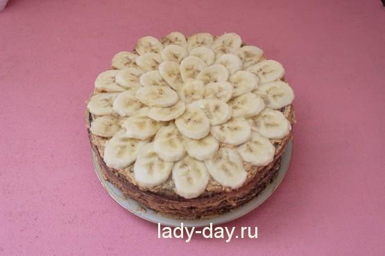 бисквитный торт со сгущенкой рецепт с фото
