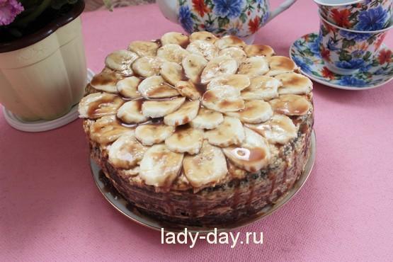 бисквитный торт со сгущенкой рецепт с фото простой