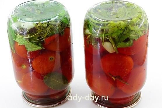 Как сделать помидоры с корицей