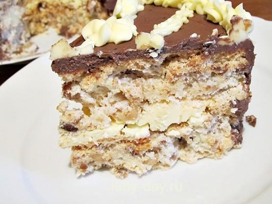 киевский торт простой рецепт в домашних условиях