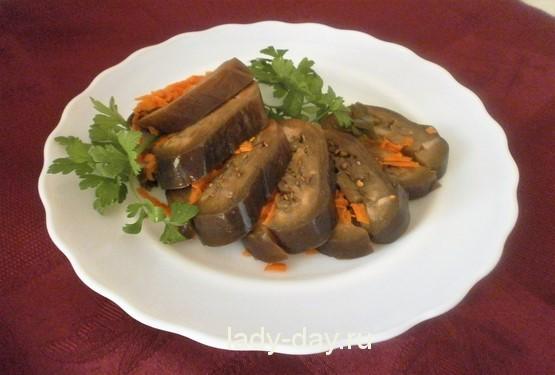 баклажаны с морковью на зиму рецепты приготовления