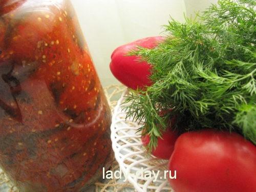Рецепты из помидор с фасолью на зиму рецепты с фото