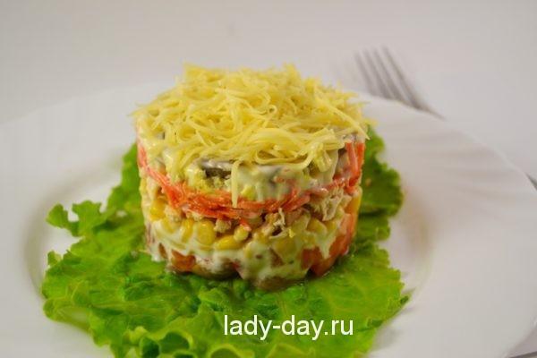 Праздничный салат рецепт с фото пошагово