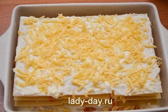Рецепт простой лазаньи с фаршем с фото